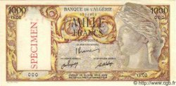 1000 Francs ALGÉRIE  1946 P.031s NEUF