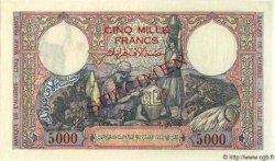 5000 Francs ALGÉRIE  1942 P.032s NEUF