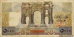 5000 Francs ALGÉRIE  1946 P.105 B