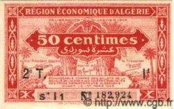 50 Centimes ALGÉRIE  1944 P.035 NEUF