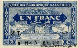 1 Franc ALGÉRIE  1944 P.101 NEUF
