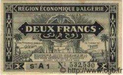 2 Francs ALGÉRIE  1944 P.099a pr.SUP