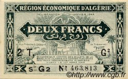 2 Francs ALGÉRIE  1944 P.039 NEUF