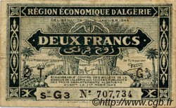 2 Francs ALGÉRIE  1944 P.102 TB+