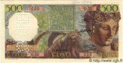 500 Francs ALGÉRIE  1949 P.040s NEUF