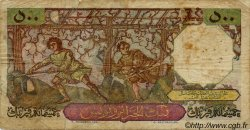 500 Francs ALGÉRIE  1952 P.040 B