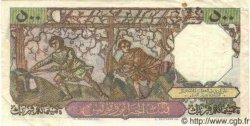 500 Francs ALGÉRIE  1953 P.040 pr.TTB