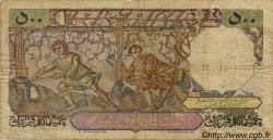 500 Francs ALGÉRIE  1956 P.106 B+
