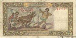 1000 Francs ALGÉRIE  1953 P.041b TB