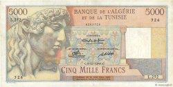 5000 Francs ALGÉRIE  1949 P.109a