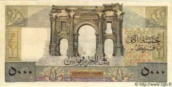 5000 Francs ALGÉRIE  1949 P.109a TTB+