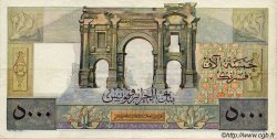 5000 Francs ALGÉRIE  1950 P.109a TTB+