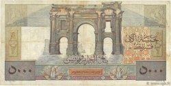 5000 Francs ALGÉRIE  1950 P.109b B+