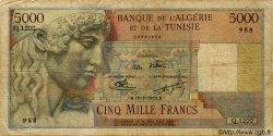 5000 Francs ALGÉRIE  1950 P.042A AB