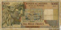 5000 Francs ALGÉRIE  1950 P.042A B