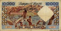 10000 Francs ALGÉRIE  1955 P.043 B+
