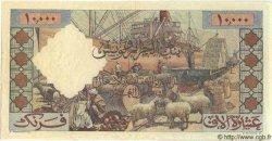 10000 Francs ALGÉRIE  1957 P.043 SUP+