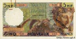 5 Nouveaux Francs ALGÉRIE  1959 P.118s