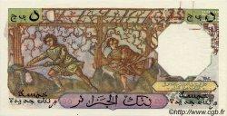 5 Nouveaux Francs ALGÉRIE  1959 P.118s pr.SUP