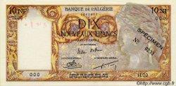 10 Nouveaux Francs ALGÉRIE  1959 P.048s SPL