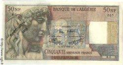 50 Nouveaux Francs ALGÉRIE  1959 P.120s pr.NEUF