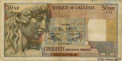 50 Nouveaux Francs ALGÉRIE  1959 P.120a pr.TB