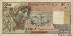 50 Nouveaux Francs ALGÉRIE  1959 P.120a TB+