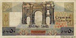 50 Nouveaux Francs ALGÉRIE  1959 P.120a
