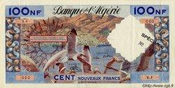 100 Nouveaux Francs ALGÉRIE  1959 P.121s SUP+