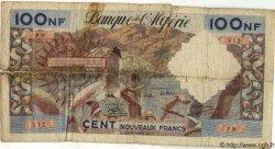 100 Nouveaux Francs ALGÉRIE  1959 P.050 M