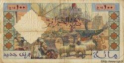 100 Nouveaux Francs ALGÉRIE  1959 P.121b TB