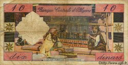 10 Dinars ALGÉRIE  1964 P.052 TB