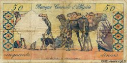 50 Dinars ALGÉRIE  1964 P.053 B