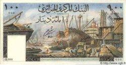 100 Dinars ALGÉRIE  1964 P.054s NEUF