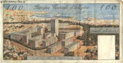 100 Dinars ALGÉRIE  1964 P.125a TB