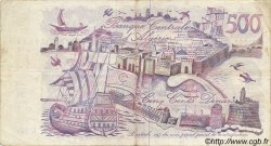 500 Dinars ALGÉRIE  1970 P.129a TTB