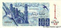 100 Dinars ALGÉRIE  1981 P.060s NEUF