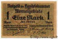 1 Mark MEMEL  1922 P.02 pr.NEUF