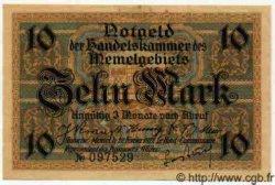 10 Mark MEMEL  1922 P.05a pr.NEUF