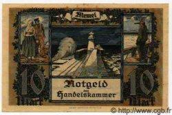 10 Mark MEMEL  1922 P.05a