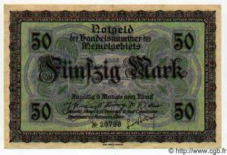 50 Mark MEMEL  1922 P.07a SUP