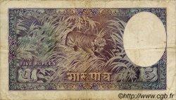 5 Mohru NÉPAL  1951 P.02 TB