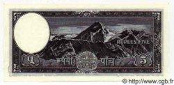 5 Rupees NÉPAL  1956 P.13 NEUF