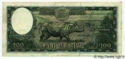 100 Rupees NÉPAL  1956 P.15 TTB à SUP