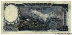 1000 Rupees NÉPAL  1972 P.21 SUP