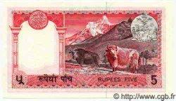 5 Rupees NÉPAL  1974 P.23 NEUF