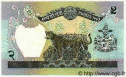 2 Rupees NÉPAL  1981 P.29b SPL