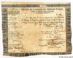 500 Francs GUYANE  1836 P.- pr.SUP