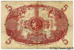 5 Francs GUYANE  1938 P.01b
