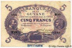 5 Francs GUYANE  1947 P.01es SPL